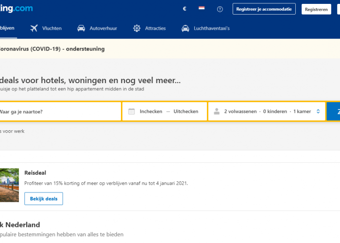 Koppeling Booking.com